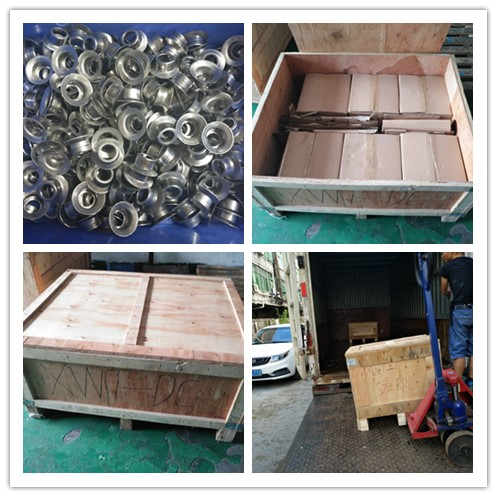Sheet metal Deep drawn parts  , stainless steel stamping part with custom