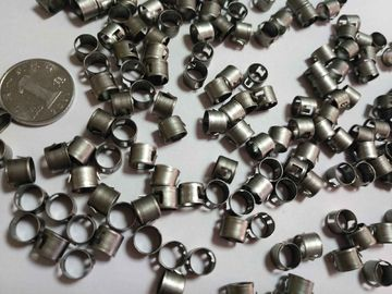 China Micro metal stamping parts , deep drawing parts in stainless steel sheet material supplier