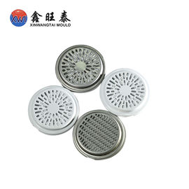 White Color Metal Deep Drawn Components / Deep Drawn Parts Tooling Design Making