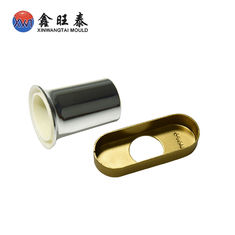 China High precision brass Deep Drawn Components fine stamping polish treatment supplier