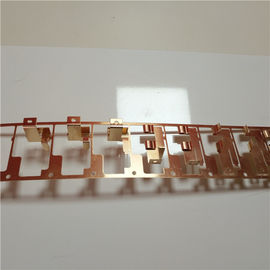 China OEM Small Size Precision Metal Stamping Parts Brass Sheet Material High Precision supplier