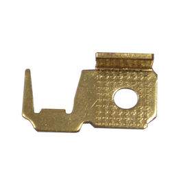 China Brass Sheet Metal Stamping Parts Fabrication High Precision Micro Dimensions supplier