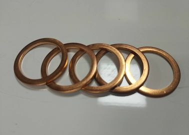 China Custom Precise Metal Stamping Washer Parts Brass Sheet Material High Speed stamping supplier
