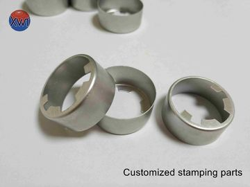 High Precise Stamping Drawing Components Small Dimensions Stainless Steel Sheet Fabrication